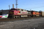 BNSF 651 (ex-ATSF 651) and BNSF 4083